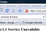 Youtube fuori servizio – server unavailable