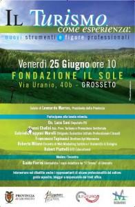 Conferenza sul turismo in Maremma