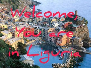 Welcome, you are in Liguria