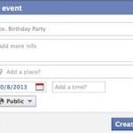 La creazione di un evento per aumentare i fan su Facebook