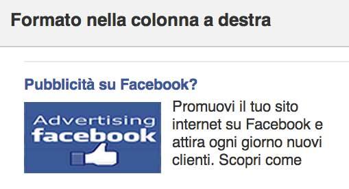 Pubblicizzare un sito internet su Facebook