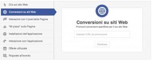 Conversione sito web