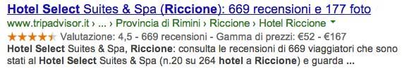 Commenti Hotel select Riccione