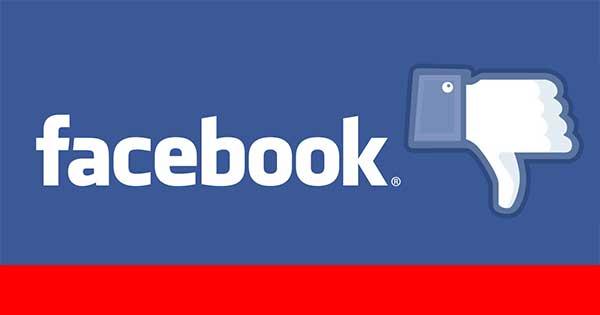 Facebook logo non mi piace