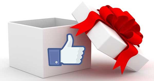 Facebook regala mi piace pagine