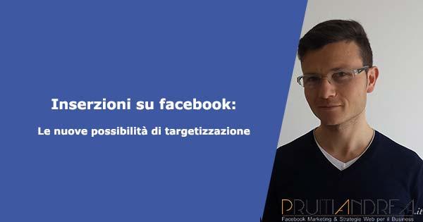 Inserzioni facebook