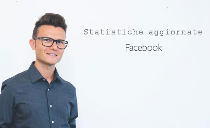 Statistiche Facebook aggiornate