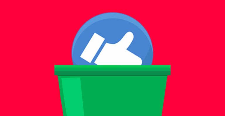 Rimozione tasto Mi Piace su Facebook